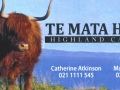 Te Mata Hills Cattle for Sale